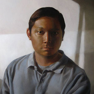 Painting: 'Paulo' - Oil on Panel, 12x16in, by Amy Koslowski Ordoveza