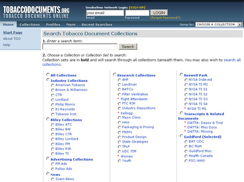 tobaccodocuments